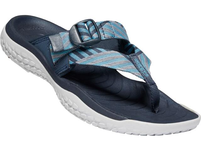 Keen Solr Sandalias de Dedo Mujer, navy/blue mist